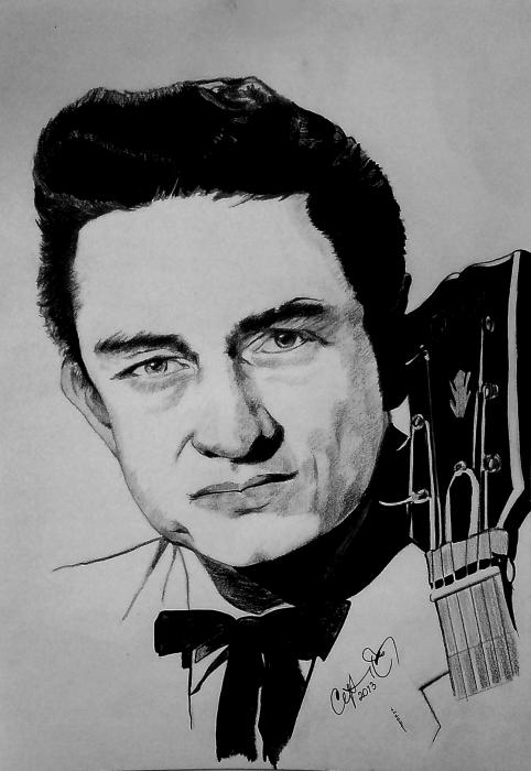 Johnny Cash by cipta